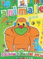 Animale zoo Carte colorat