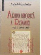 Arhiva istorica a Romaniei vol 1+2