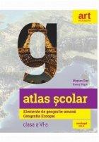 Atlas scolar Elemente geografie umana