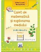 Caiet de Matematica si explorarea mediului - Clasa a II-a Semestrul I