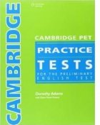 Cambridge PET practice tests for the preliminary english test- 3 CD-s