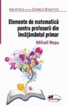 Elemente matematica pentru profesorii din