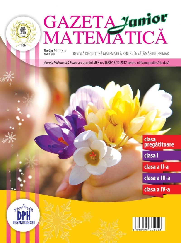Gazeta Matematica Junior nr. 91 (Martie 2020)
