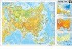 Harta Asia - duo 120x160 cm