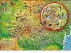 Harta Romaniei pentru copii (160 x 140 cm)