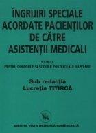 Manual ingrijiri speciale acordate pacientilor