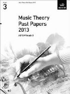 Music Theory Past Papers 2013, ABRSM Grade 3