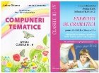 Pachet Exercitii de gramatica si compuneri tematice pentru clasele II-V (2 carti)
