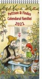 Pettson si Findus. Calendarul Familiei 2021