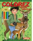 Razvan. Colorez animale salbatice