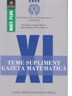 Teme supliment. Gazeta Matematica. Clasa a XI-a